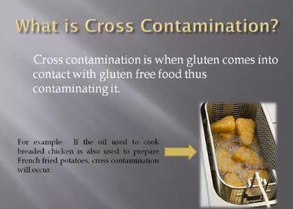 gluten cross contamination