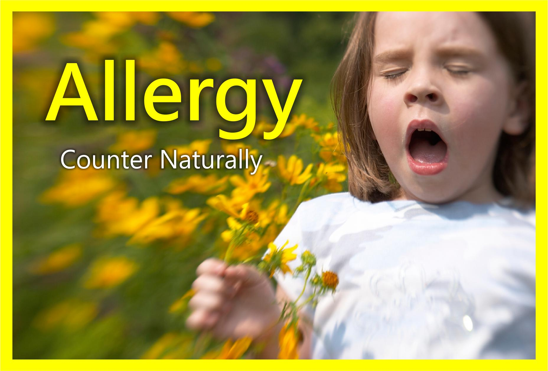 Allergies: Natural Relief